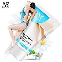 NR Powerful Permanent Hair Removal Cream Stop Hair Growth Inhibitor Removal