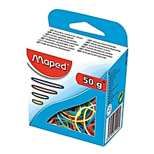 351100 - Maped Rubber Bands - Assorted Colours