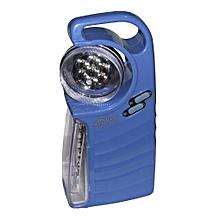 Rechargable Emergency Light - Blue