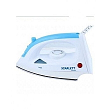 Iron Box - 1200W - White & Blue.
