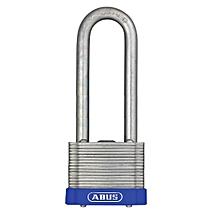 Long shackle steel laminated waterproof padlock