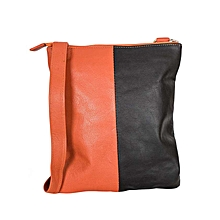 Black / Orange Front Pocket Body Bag
