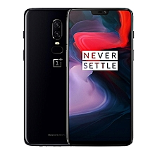 "OnePlus 6 6.28"" 19:9 AMOLED Android 8.1 6GB RAM 64G ROM Core 4G Smartphone Black"