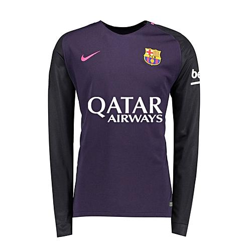 9db6c26e1be Generic FOOTBALL JERSEYS Barcelona Away Kit Jersey 16 17 Long Sleeve. By  Generic