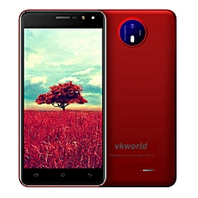 """F2 3G Smartphone 5.0"""" 2.5D Android 6.0 MTK6580A Quad Core 1.3GHz US Plug"""