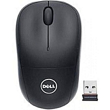 Wireless Mouse With USB Receiver - Black