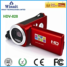 Winait 2017 cheap HDV-828 digital video camera with PC Camera Self Capture Play Back Image Zoom LOOKFAR