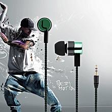 Noise Isolating Stereo 1.1M in-Ear 3.5mm Media Player Music Earphone NEW