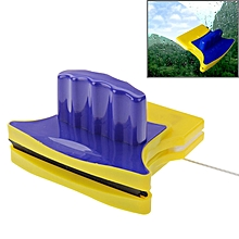 Magnetic Double-Sided Glass Cleaner (Blue+Yellow)