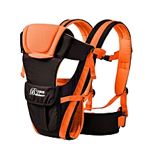 Adjustable Baby Carrier Backpack - Yellow