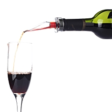 NiJia Portable Essential Aerating Oxygenating Wine Pourer Red Wine Bottle Stopper Aerator Decanter, the First Generation
