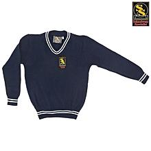 School Sweater - Navy Blue