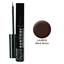 Smudge Proof Liquid Eyeliner (7ml) - Black Brown