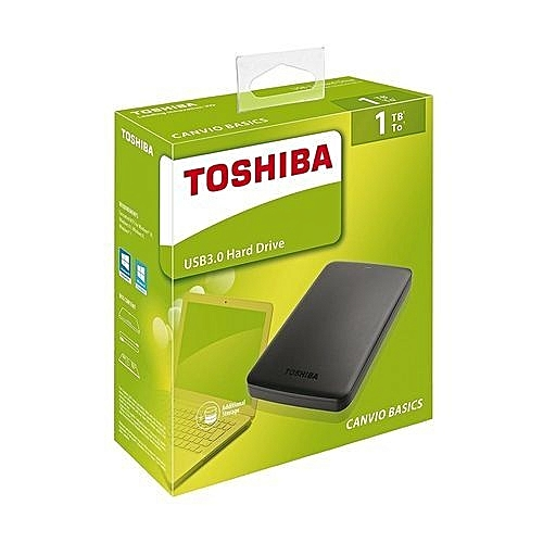 1TB Canvio Basics External Hard Drive - Black