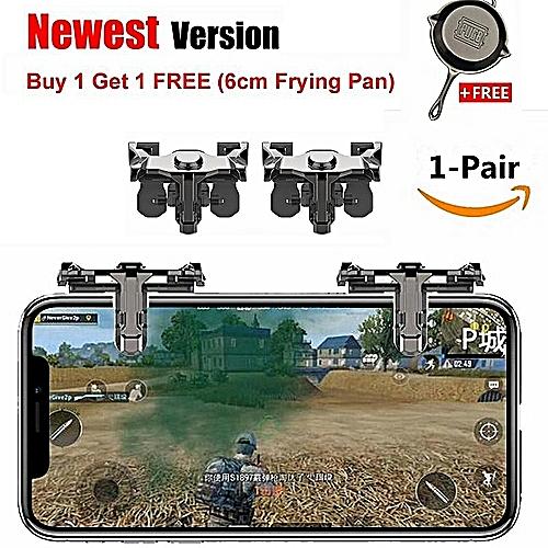 1 Pair PUBG ROS And Mobile Phone Shooting Games Shortcut Key Joystick L1R1  Shooter Controller PUBG Joysticks For Rules Of Survival, Last Battle