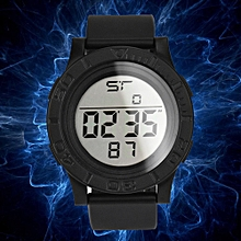 HONHX Africashop Watch  NEW Fashion Men's LED Digital Date Countdown Timer Sport Quartz Wrist Watch-Black