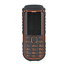A5000+ 1.77 Inch 4400mAh OTG Flashlight Bluetooth MP3 MP4 Dual Sim Card Outdoor Rugged Phone Orange