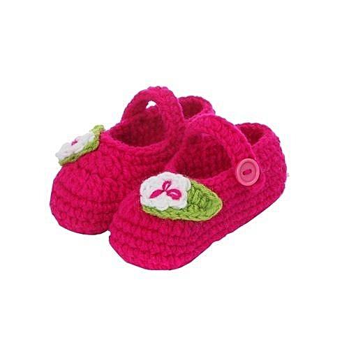 3ddb4f8e3 Eissely bluerdream-Crib Crochet Casual Baby Handmade Knit Sock ...