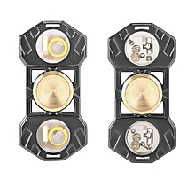 Portable Stress Relieve LED Illuminating Hand Spinner Finger Toy Focus Gift
