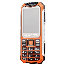 V3S Water-Proof 2.4 Inch Display32+32M Memory 0.3MP Rear Camera Phone-orange