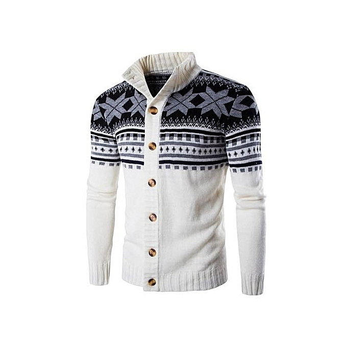 b63c9aead32 ... Men Christmas Cardigan Sweater Winter Plus Size Men sweaters Long  Sleeve Jacket Casual Knitted Sweater