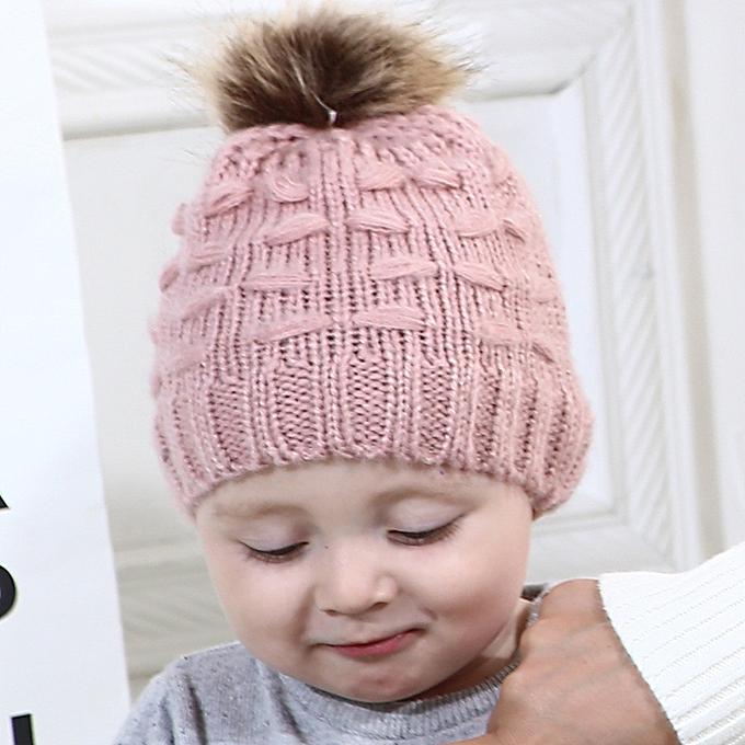 f9474f95bc69af ... Cute Toddler Kids Girl&Boy Baby Infant Winter Warm Crochet Knit Hat  Beanie ...