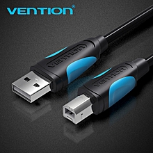 USB2.0 A Male to B Male Print Cable 1.5M Black High Quality