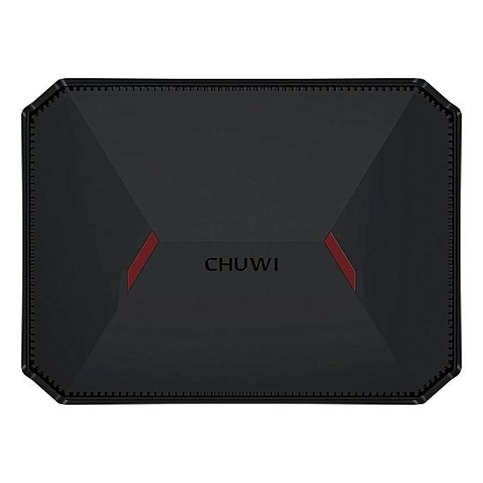 CHUWI GBox Windows 10 and Linux System Mini PC, Intel Gemini-Lake N4100  Quad-core 1 1-2 4GHz, RAM: 4GB LPDDR4, ROM: 32GB eMMC + 32GB SSD, Support