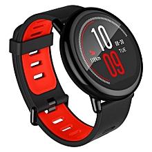 AMAZFIT Xiaomi IP67 Waterproof Zirconia Ceramics Bluetooth GPS Heart Rate Monitor Watch Black