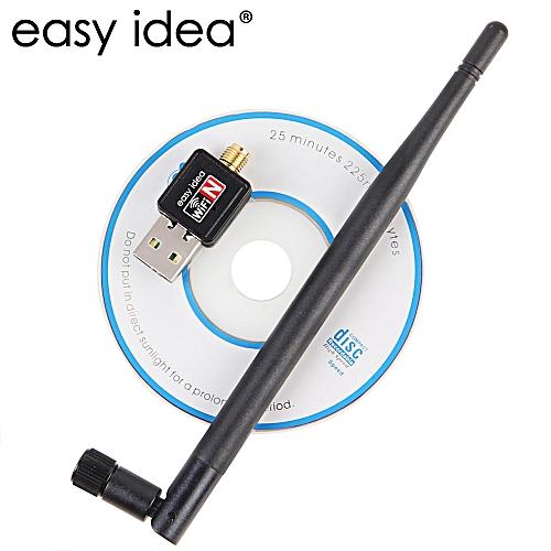 Wireless USB Wifi Adapter 5dB Wifi dongle 150M Ethernet wifi Receiver  802 11n/g/b USB Network Card Lan Antenna PC wifi adapter( )