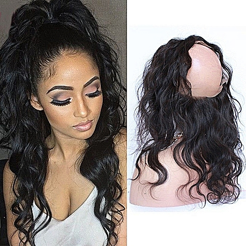 HUMAN HAIR WigFinity Hair Peruvian 100% Human Hair Body Wave 360 Frontal 2e6929597164