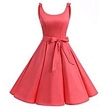 Women Vintage 50S Swing Party Dress
