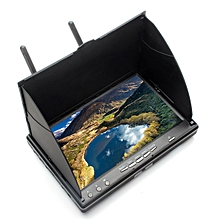 Eachine LCD5802S 5802 40CH Raceband 5.8G 7 Inch Diversity Receiver Monitor with Build-in Battery-