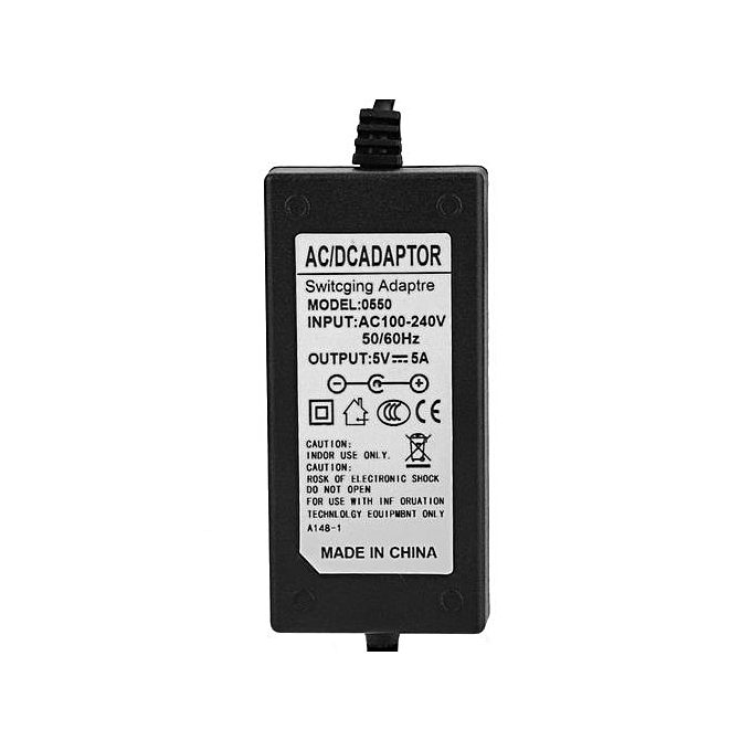 5V 5A AC / DC Power Supply Adapter For Mini TV Game Console 100-240V US Plug