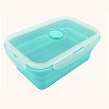 Large Capacity Silicone Portable Lunch Box 750ml Microwave Oven Bowl Bento green