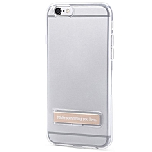 4.7 Inch Phone Cover Magnetic Stand For IPhone 6 / 6S (CHAMPAGNE)