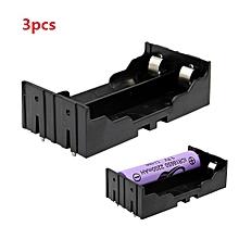 3pcs DIY 2-Slot 18650 Battery Holder With Pins