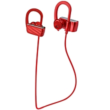 Bluetooth Headphones In-ear 7 Hrs Playtime - Red