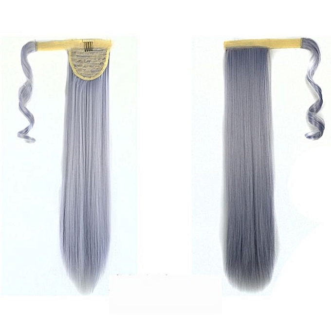 Buy Neworldline Real New Clip In Human Hair Extension Straight Pony