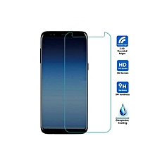 2 Pc Samsung Galaxy A7 2018 Phone Screen Protector HD Durable Tempered Glass Front Film    SAMSUNG GALAXY A7 2018    as the picture