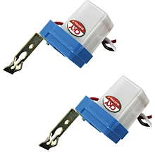 2 PCS AC DC 12V Auto On-Off Photocell Street Light Photoswitch Sensor Switch Photocell