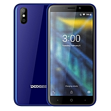 X50 1GB+8GB Dual Back Cameras Face ID 5.0 inch Android 8.1 MTK6580M Quad Core up to 1.3GHz 3G Dual SIM Smartphone(Blue)