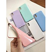 iPhoneX/8/8Plus/7/7Plus/6/6S/6Plus/6SPlus Phone Case Solid Color TPU Anti-shock Phone Cover____IPHONE 7PLUS____white