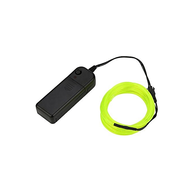 Buy Generic 3M Battery Operated Luminescent Neon LED Lights Glow EL ...