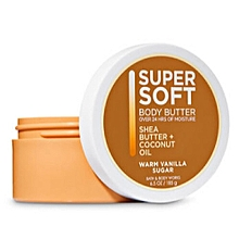 Warm Vanilla Sugar Super Soft Body Butter