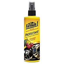 Formula1 High Performance Protectant – Cherry Fragrance Protectant 10/04 oz (315 ml)-Cleans Car Interiors and Exteriors – Shines and Protects