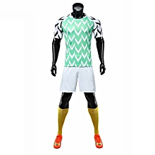Customized Available Nigeria Team Men And Kid's Brand Football Soccer Training Jerseys