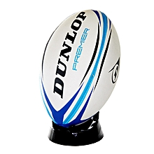 Barbarian Rugby Ball - Size 5 - Blue/White