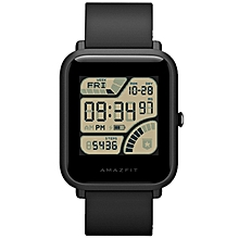 Huami AMAZFIT Smartwatch International Version with Corning Gorilla Glass Screen Heart Rate / Sleep Monitor Geomagnetic Sensor GPS-BLACK