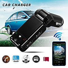Bluetooth Transmitter FM Wireless Radio Adapter MP3 Player Car USB Charger AUX